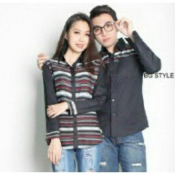Romantic Black - Baju / Kemeja / Fashion / Couple / Pasangan / Pesta / KasualRomantic Black