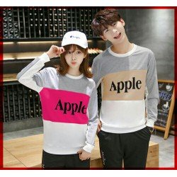 Sweater Apple - Mantel / Busana / Fashion / Couple / Pasangan / Babyterry / Kasual