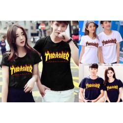 Thrasher - Kaos Couple / Baju Pasangan / Couple Grosir