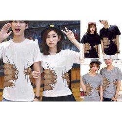 Body Press - Kaos Couple / Baju Pasangan / Couple Grosir