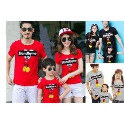 FM Stand By Me Mickey - Kaos / Baju / Busana / Setelan / Family / Keluarga / Kasual / Kompak