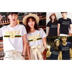 Gucci Logo - Kaos Couple / Baju Pasangan / Couple Grosir