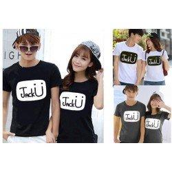 Jack U - Baju / Kaos / Oblong / Couple / Pasangan / Kombinasi / Katun Combed