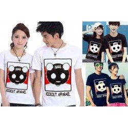 Kickout Couple - Baju / Kaos / Oblong / Couple / Pasangan / Kombinasi / Katun Combed