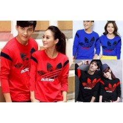 LP Adidas Prime - Baju / Kaos / Oblong / Couple / Pasangan / Kombinasi / Katun Combed