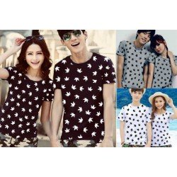 Leaves - Kaos Couple / Baju Pasangan / Couple Grosir