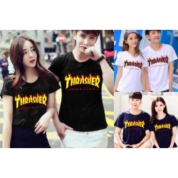 Thrasher - Kaos Couple / Baju Pasangan / Couple Grosir