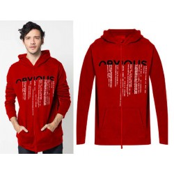 Men Jacket Obvious Red