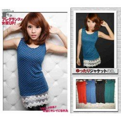 Tanktop Mini Love Renda