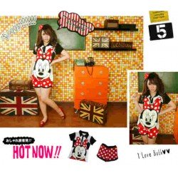 Wangky Set Minnie Polkadot