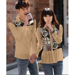 Rumbe Gajah Coksu - Baju / Kemeja / Fashion / Couple / Pasangan / Batik / Pesta