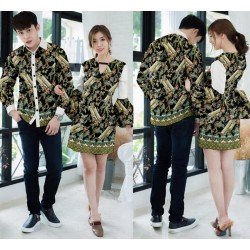 Dress Prada Latte Tosca - Dress / Busana / Fashion / Couple / Pasangan / Pesta / Kondangan / Elegan