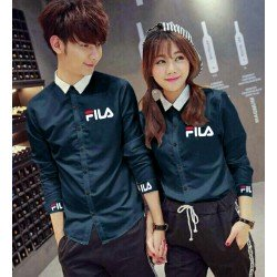 Fila Mini - Baju / Kemeja / Fashion / Couple / Pasangan / Batik / Pesta