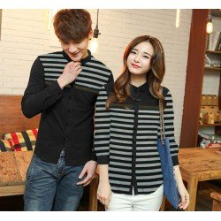 Lis Gucci Black - Baju / Kemeja / Fashion / Couple / Pasangan / Batik / Pesta