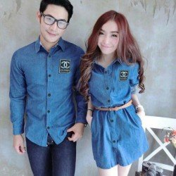 Mini Dress Channel - Dress Couple / Baju Pasangan / Fashion / Couple