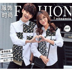 Whily White - Baju / Kemeja / Fashion / Couple / Pasangan / Batik / Pesta
