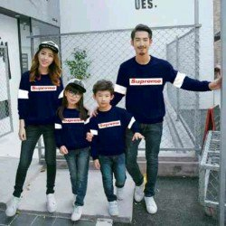 FM2 Sweater Supreme - Baju Keluarga / Family Couple / Grosir Couple