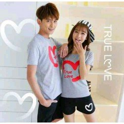 CS True Love Misty - Baju / Kaos / Oblong / Stelan / Couple / Pasangan / Kasual
