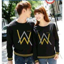 Sweater Alan Walker Rajut Black - Mantel / Busana / Fashion / Couple / Pasangan / Babyterry / Kasual
