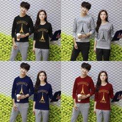 Sweater Essence Neo - Mantel / Busana / Fashion / Couple / Pasangan / Babyterry / Kasual