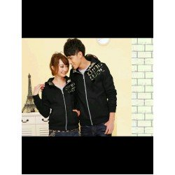 Jacket Qing Army Hitam - Jacket / Busana / Fashion / Couple / Pasangan / Babyterry / Sporty