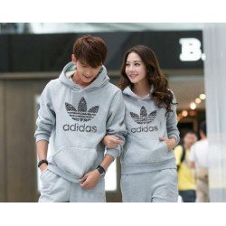 Jumper Adidas Misty - Mantel / Busana / Fashion / Couple / Pasangan / Babyterry / Sporty