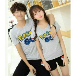 CS Pokemon - Supplier / Stelan / Kaos / Baju / Busana / Couple / Pasangan / Unik / Kasual