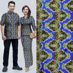 Andin - Busana / Dress / Batik / Couple / Pasangan / Pesta / Formal / Songket / Satin