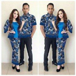 Assyfa - Busana / Dress / Batik / Couple / Pasangan / Pesta / Formal / Songket / Satin