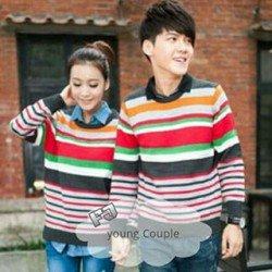 Sweater Young - Mantel / Fashion / Couple / Pasangan / Rajut / Hangat