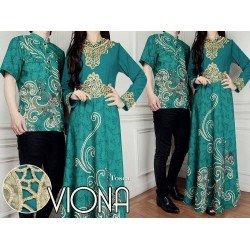 Viona Tosca - Busana / Baju / Fashion / Batik / Gamis / Couple / Pasangan / Muslim