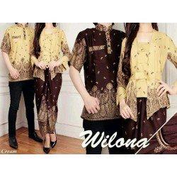 Wilona - Busana / Baju / Fashion / Batik / Gamis / Couple / Pasangan / Muslim