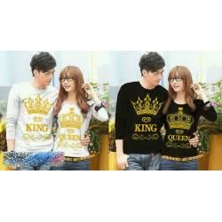 LP King Queen Crown
