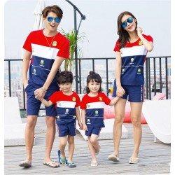 Family 2 Anak Minion Banana - Baju Family / Family Couple / Baju Keluarga