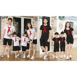 Family 2 Anak Sailor Tie - Baju Family / Family Couple / Baju Keluarga