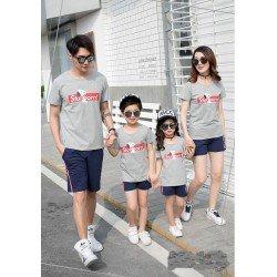 Family 2 Anak Snoopy Stubborn - Baju Family / Family Couple / Baju Keluarga