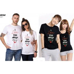 Love Everyday - Kaos Couple / Baju Pasangan / Couple Grosir