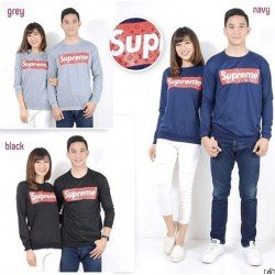 Sweater Supreme - Mantel / Busana / Fashion / Couple / Pasangan / Babyterry / Kasual