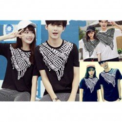 Syal - Kaos Couple / Baju Pasangan / Couple Grosir