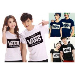 Vans OB - Kaos Couple / Baju Pasangan / Couple Grosir