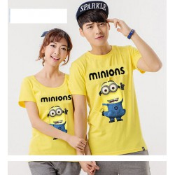 Minion Bob - Kaos Couple / Baju Pasangan / Couple Grosir