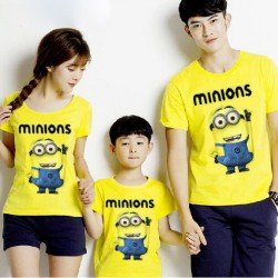 FM Minion Bob - Baju Keluarga / Fashion / Supplier / Grosir / Couple