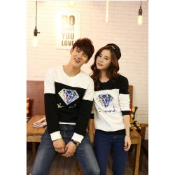 Sweater Diamond Blur - Sweater Couple / Baju Pasangan / Supplier Couple