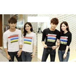 LP Rainbow - Kaos Pasangan / Baju Couple / Fashion Grosir / Prewed