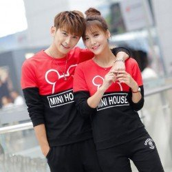 Sweater Mini House - Sweater Couple / Baju Pasangan / Supplier Couple
