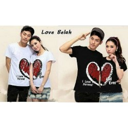 Break Love - Kaos Couple / Baju Pasangan / Couple Grosir