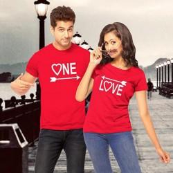 Panah Love - Kaos Couple / Baju Pasangan / Couple Grosir