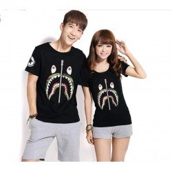 Bape - Kaos Couple / Baju Pasangan / Couple Grosir