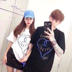Channel Collete - Kaos Couple / Baju Pasangan / Couple Grosir