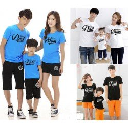 FM Super Dad - Kaos / Family / 1 Anak / Couple / Fashion / Pasangan / Supplier / Grosir / Murah / Unik
